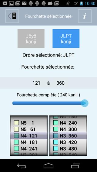liste kanji japonais